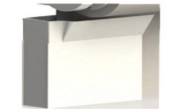 Toldo vertical para cerramientos entre muros balcones y for Guias de aluminio para toldos