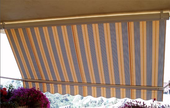 <B>4010</B> Semi Cassette awning with stight line arms