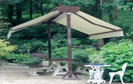 <B>6021</B> Structure for installation of awnings
